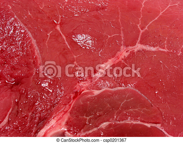 rauw vlees, textuur - csp0201367