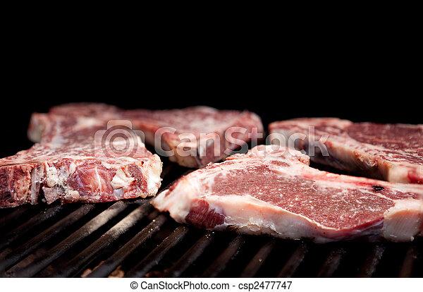 rauwe biefstuk - csp2477747