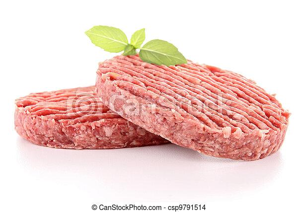 rauwe biefstuk - csp9791514