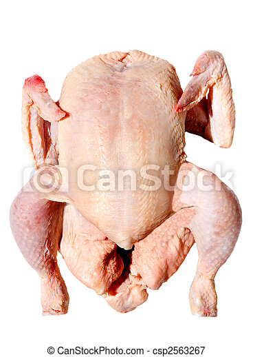 raw chicken photo of a aw chicken a over white background