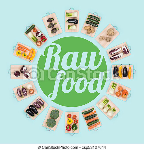 Raw food and healthy eating - csp53127844