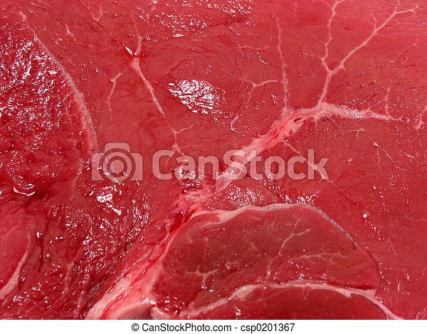 Raw meat texture - csp0201367