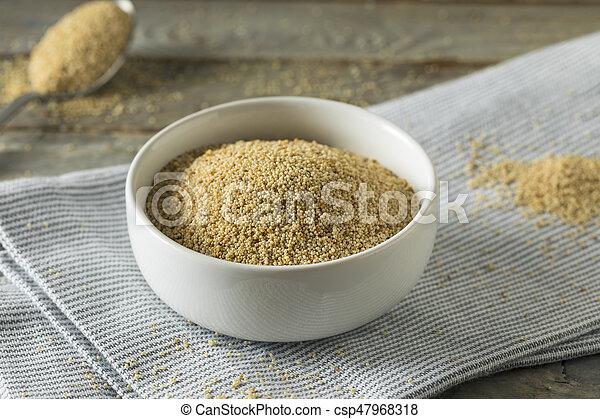 Raw Organic White Poppy Seeds - csp47968318