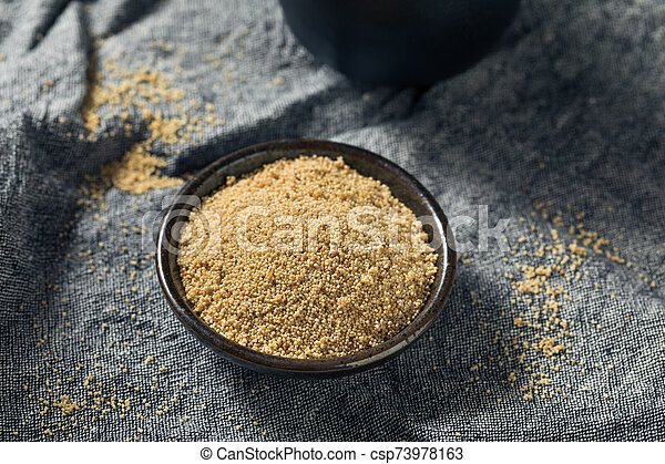 Raw Organic White Poppy Seeds - csp73978163