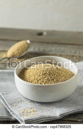 Raw Organic White Poppy Seeds - csp47968325