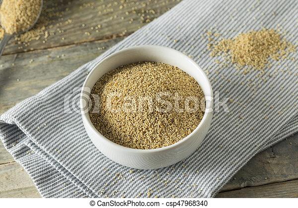 Raw Organic White Poppy Seeds - csp47968340