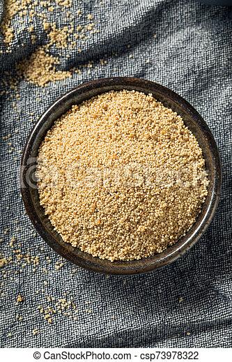 Raw Organic White Poppy Seeds - csp73978322