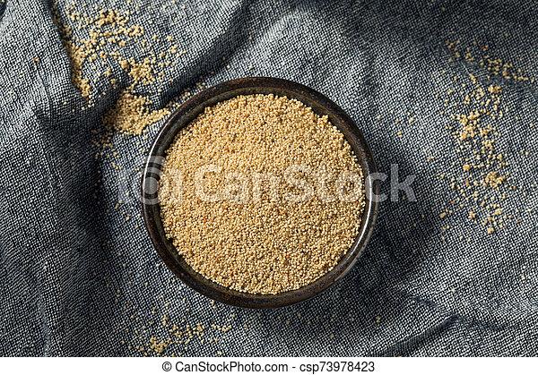 Raw Organic White Poppy Seeds - csp73978423