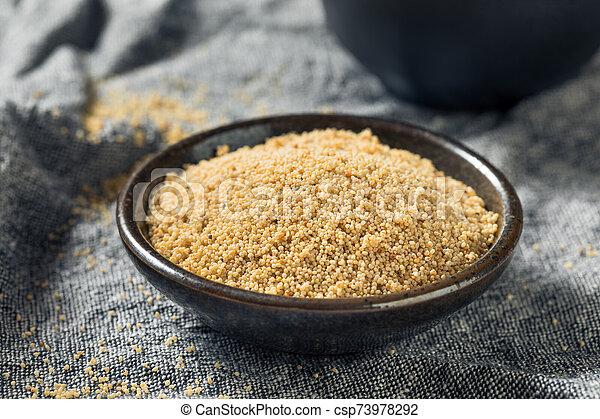 Raw Organic White Poppy Seeds - csp73978292