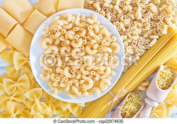 raw pasta - csp22974635