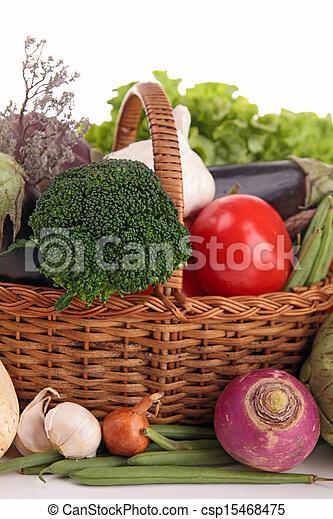 raw vegetables - csp15468475