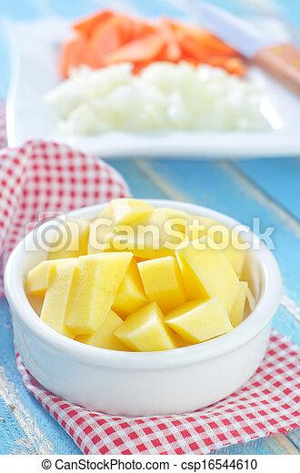 raw vegetables - csp16544610