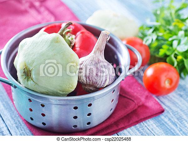 raw vegetables - csp22025488