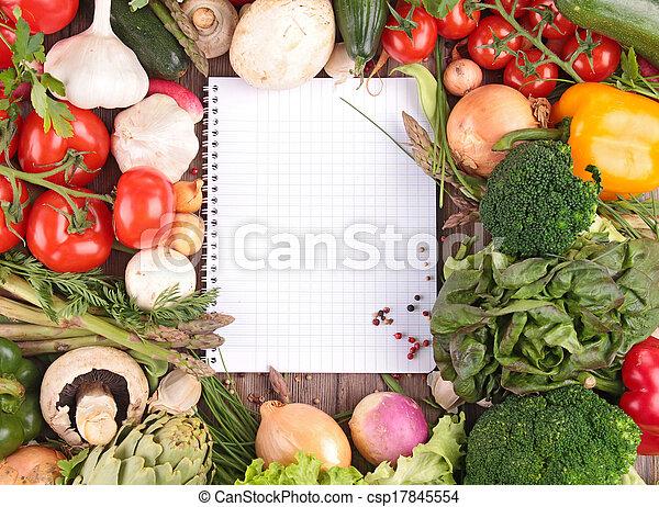 raw vegetables - csp17845554