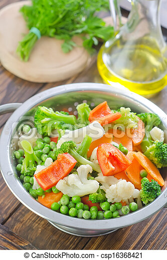 raw vegetables - csp16368421