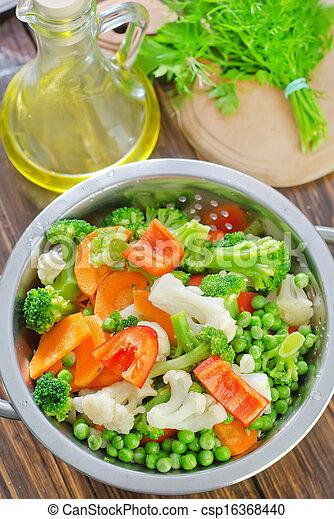raw vegetables - csp16368440