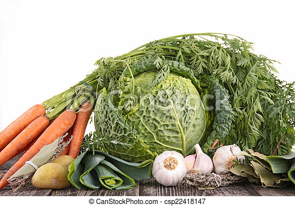 raw vegetables - csp22418147