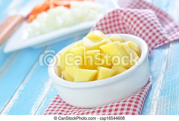 raw vegetables - csp16544608