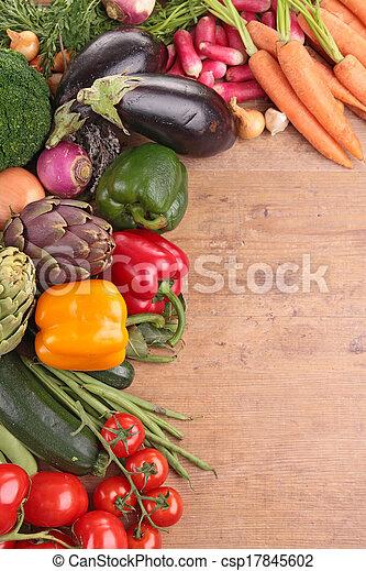 raw vegetables - csp17845602