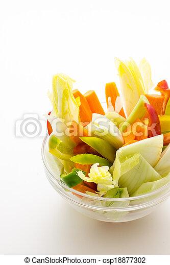 Raw vegetables - csp18877302