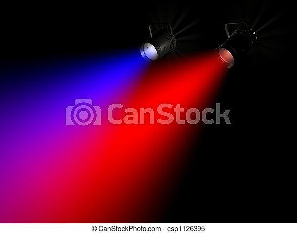 Rayo de luz - csp1126395