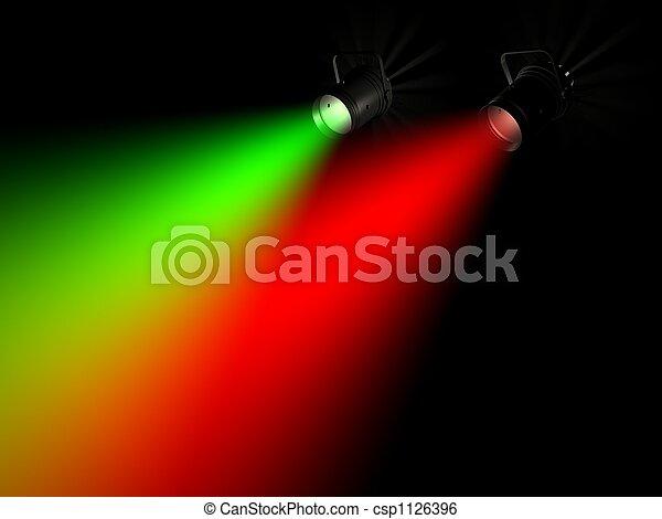 Rayo de luz - csp1126396