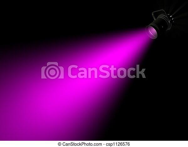 Rayo de luz - csp1126576