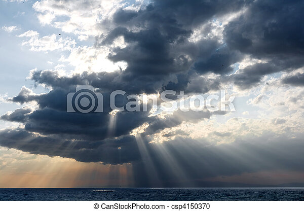 rays and clouds - csp4150370