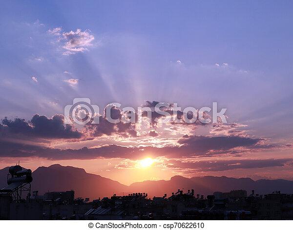 rays of the sun - csp70622610