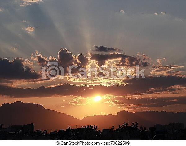 rays of the sun - csp70622599