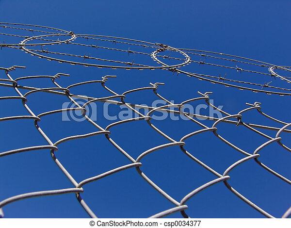 Razor Fence - csp0034377