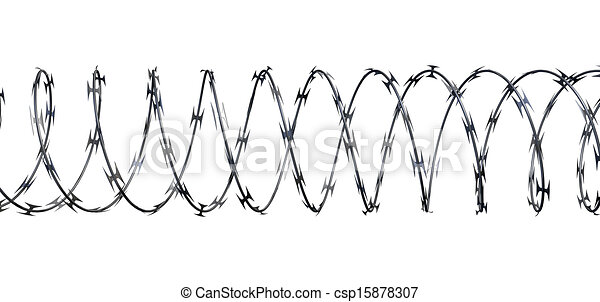 Razor Wire Coil Clip Art - WIRE Center •