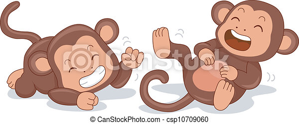 Monos sonrientes - csp10709060