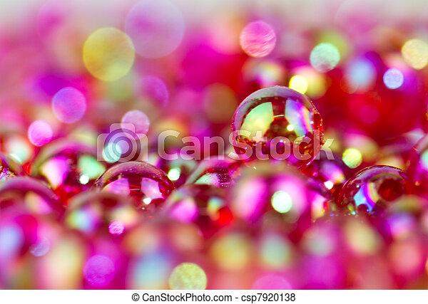 read beads background II - csp7920138