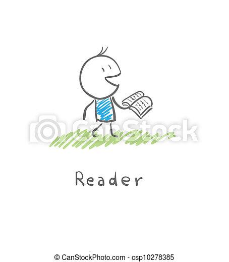 reader - csp10278385