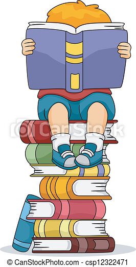 Reading Boy - csp12322471