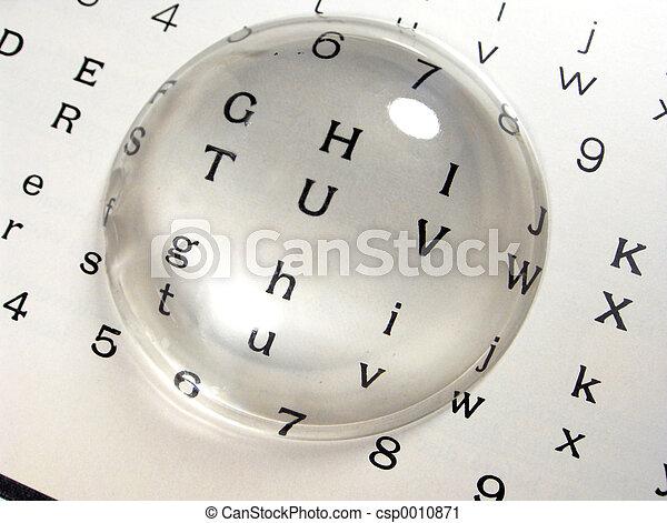 Reading Glass - csp0010871