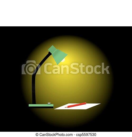 Reading lamp - csp5597530