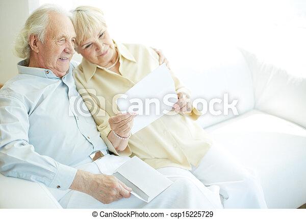 Reading letter - csp15225729