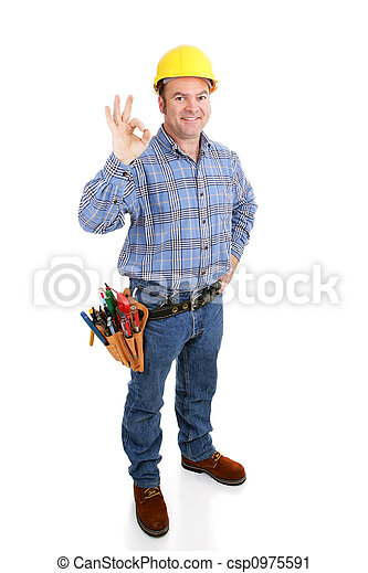 Real Construction Worker - AOkay - csp0975591