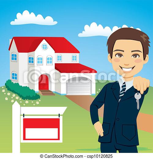 Real Estate Agent - csp10120825