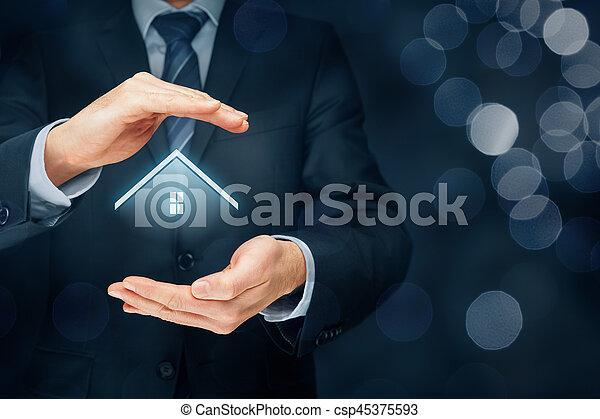 Real estate agent - csp45375593