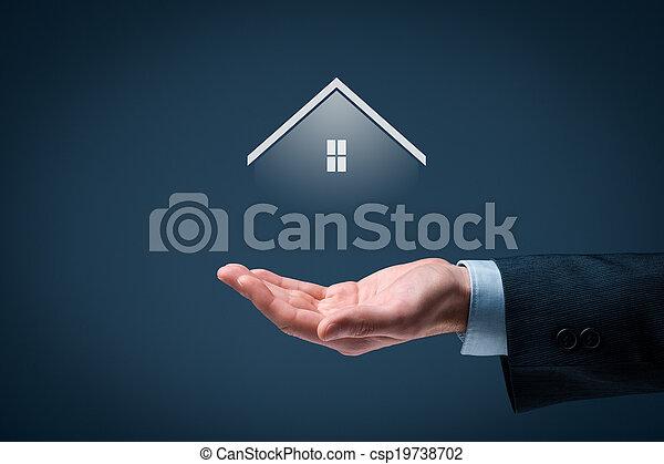 Real estate agent - csp19738702