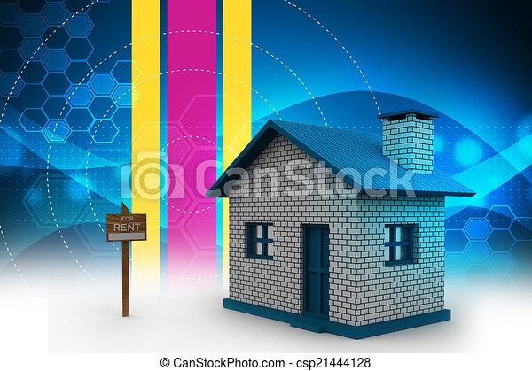 Real estate concept - csp21444128