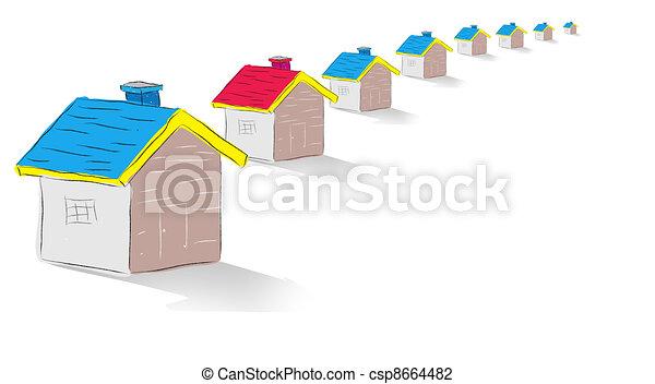 Real Estate Concept   - csp8664482