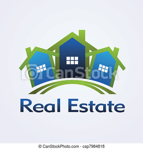 Real Estate concept design - csp7984818