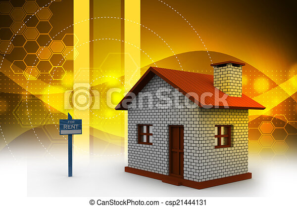 Real estate concept - csp21444131