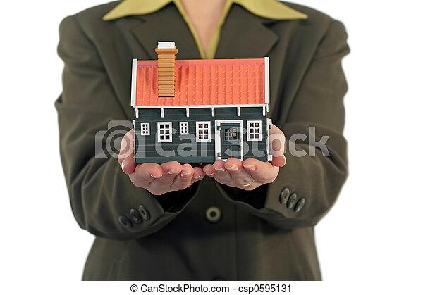 Real estate concept - csp0595131