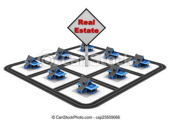 Real estate concept  - csp23509066