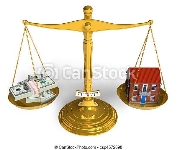 Real estate concept - csp4572698